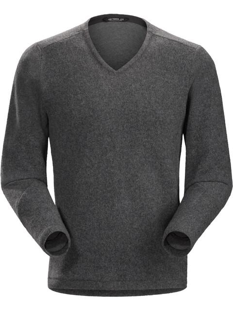 Arc'teryx Donavan V-Neck Sweater Men Dark Grey Heather